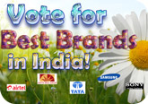 Vote for India's best brands!